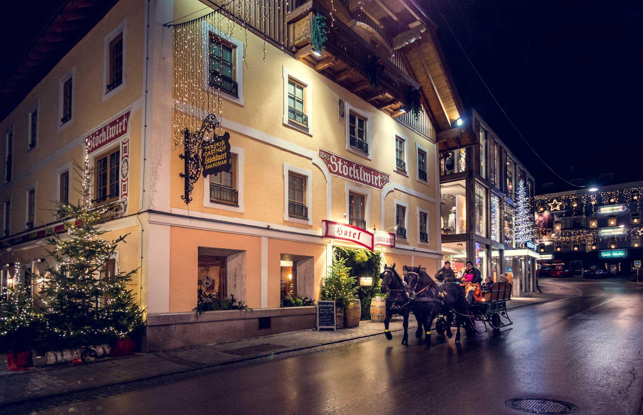 Hotel Restaurant Stoecklwirt St. Johann im Pongau Öffnungszeiten