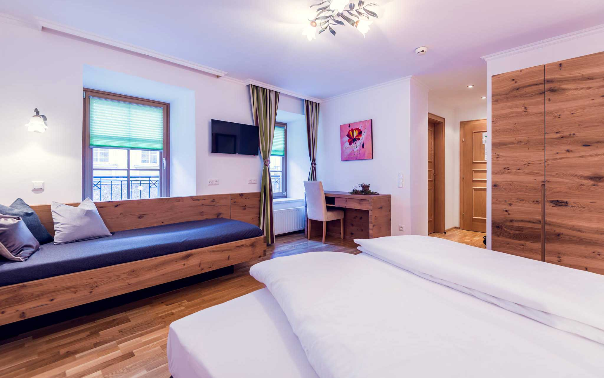 Doppelzimmer Komfort in St. Johann Alpendorf mit Frühstück